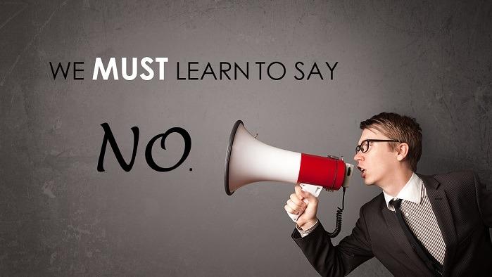 Học cách nói không trong kinh doanh