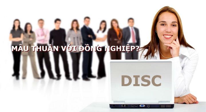 Mâu thuẫn với đồng nghiệp giải quyết bằng disc