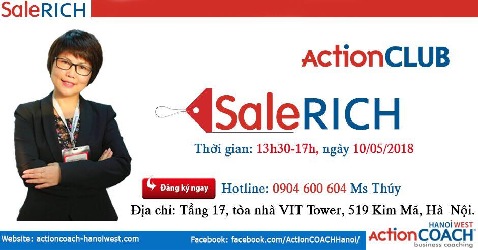 SaleRich Sale Rich Ly Ha Thu