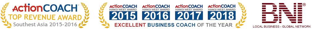 Giải thưởng Lý Hà Thu với ActionCOACH và BNI
