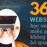 36 website học online miễn phí