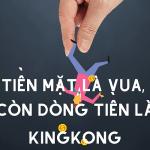 Tiền mặt là vua. Dòng tiền là Kingkong