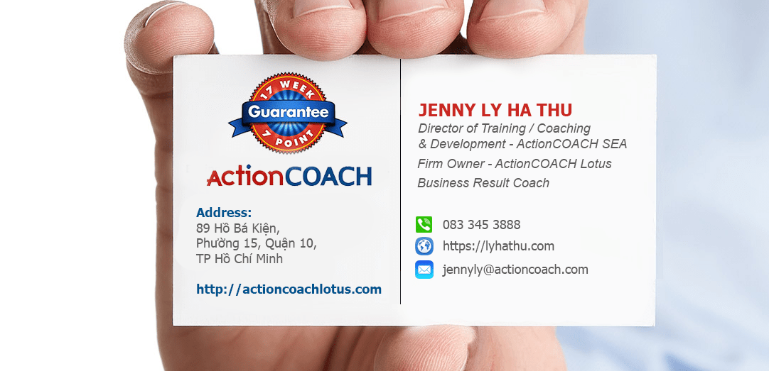ActionCOACH Business Card