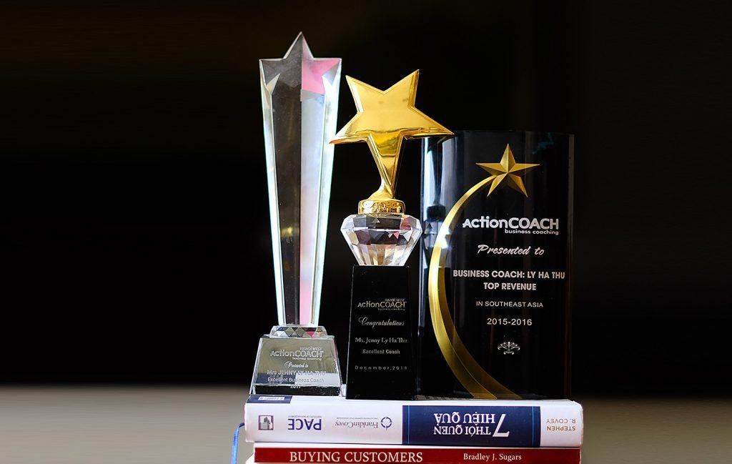 Giải thưởng ActionCOACH của Coach Jenny Lý Hà Thu