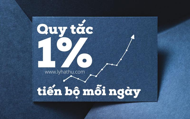 Quy tắc 1% tiến bộ mỗi ngày